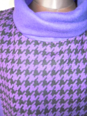 紫千鳥ウール拡大