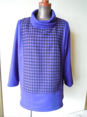 紫千鳥ウール161222