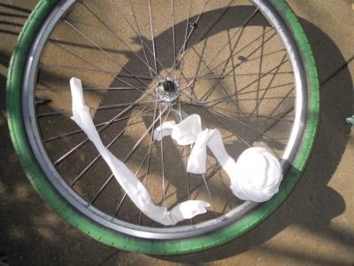 自転車掃除161225