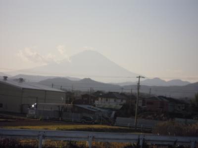 今日の富士山170102