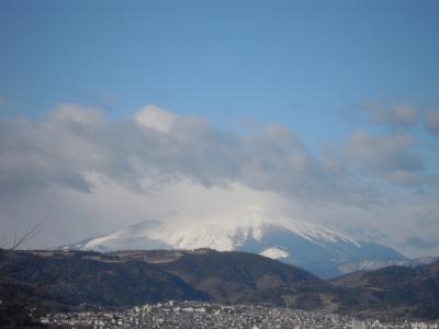 権現山から富士170115