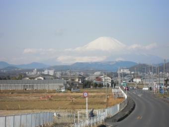 今朝の富士山170208