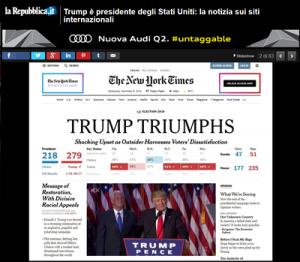 Trump è presidente degli Stati Uniti-Repubblica.it