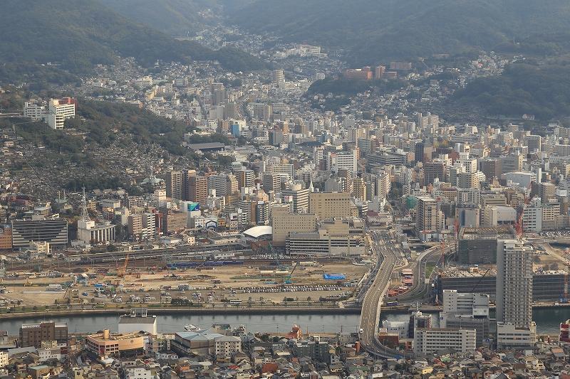 長崎駅 大サロ 稲佐山より俯瞰 RVP50b 7000K