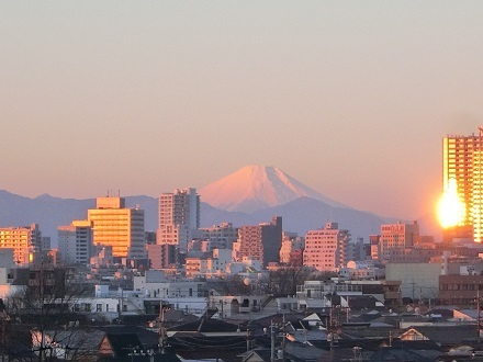 初日の出富士山