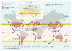 北緯45度気候区分