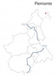 Piemonte全域白地図①