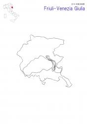 フリウリ2016白地図