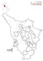 トスカーナ白地図②