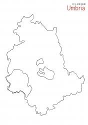 ウンブリア白地図②