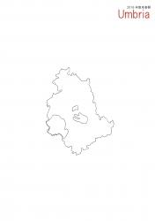 ウンブリア白地図③