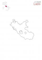 ラッツィオ2016白地図②