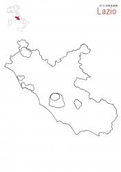 ラッツィオ2016白地図大