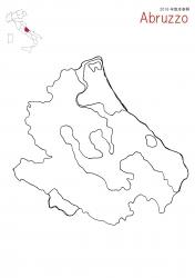 アブルツォ2016白地図
