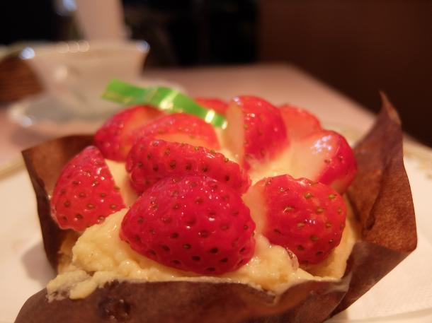 苺のタルト