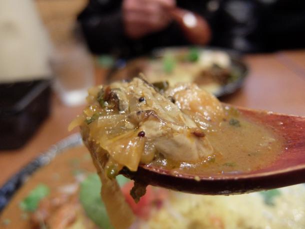 牡蛎汁カリー