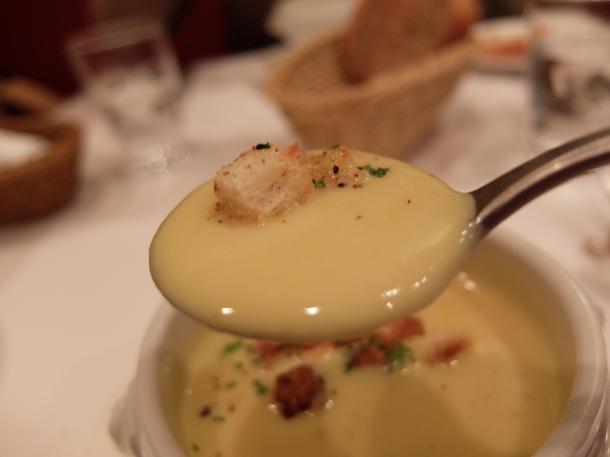 安納芋のポタージュ