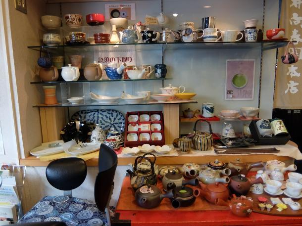 茶器の販売