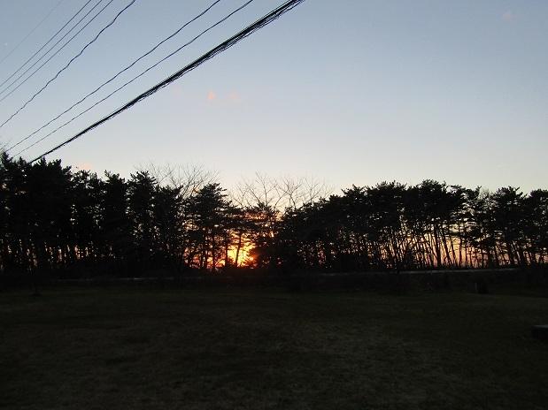 冬の夕日3