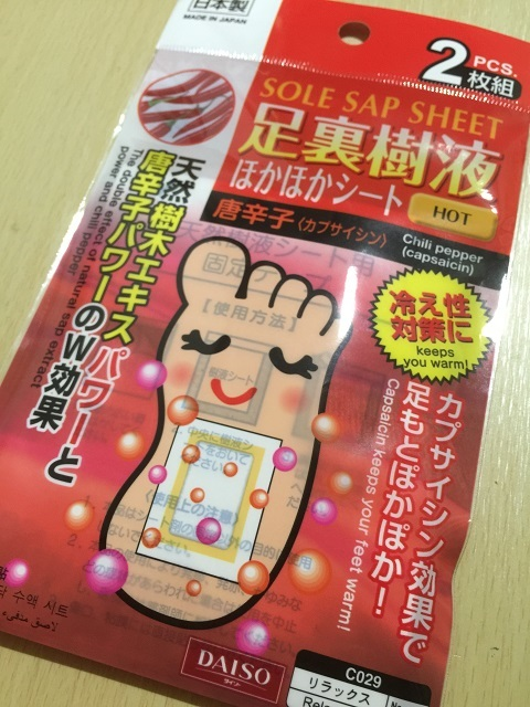 100円ショップ ザ ダイソー 樹液シート5