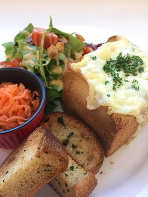 カフェ デ オラ 玄米とビーフシチューのプレート2
