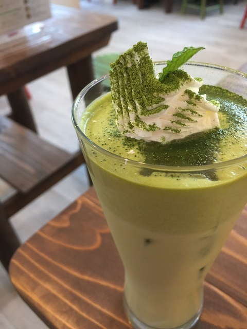 café HP by HeartPeace 抹茶ミルク
