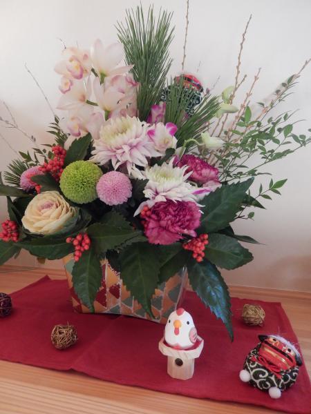 平成29年 お正月の花