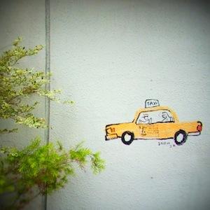 お散歩6タクシー