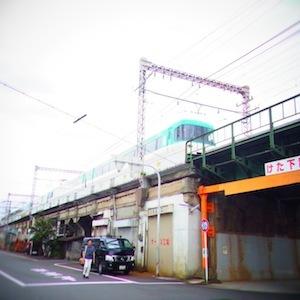 お散歩6電車3