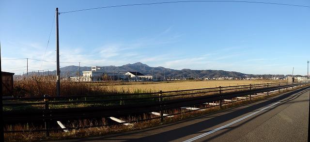 米山 パノラマ写真