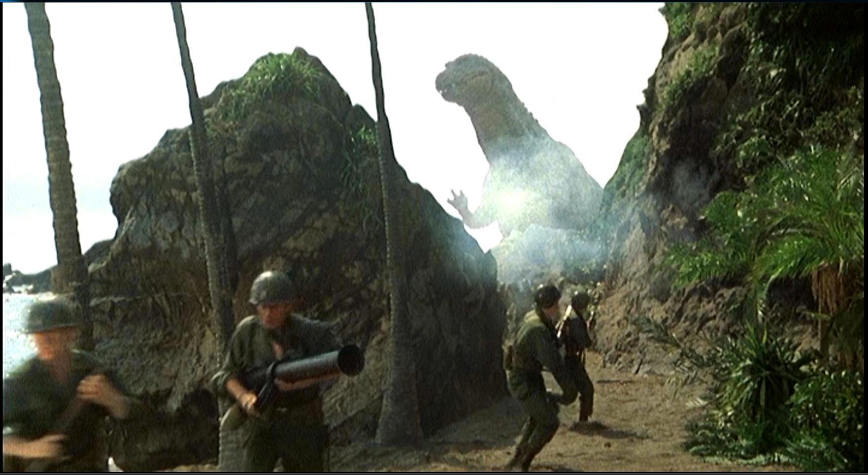 ゴジラザウルス現る