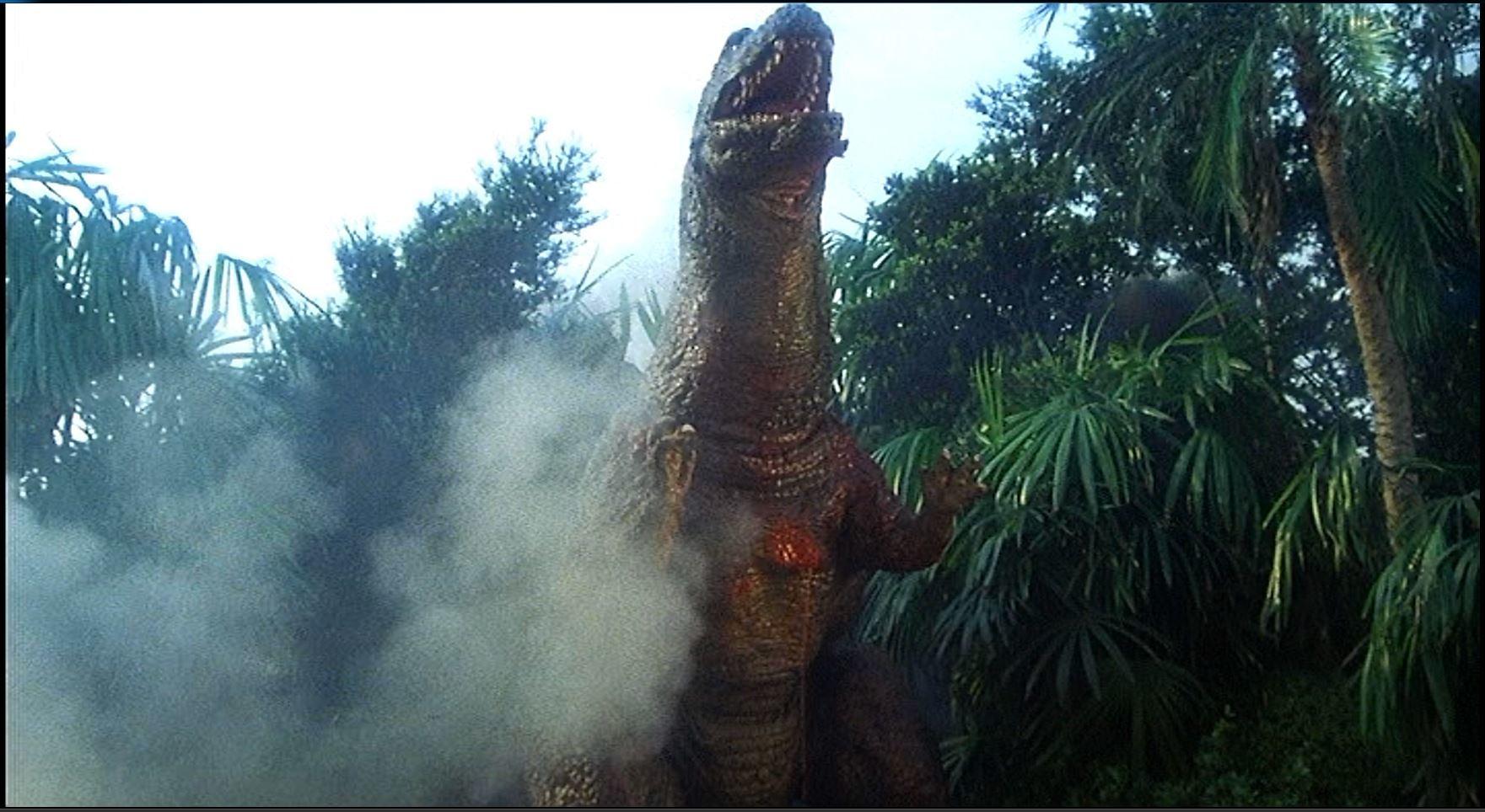 恐竜吠える