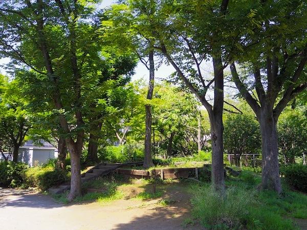 「大井公園内古墳」