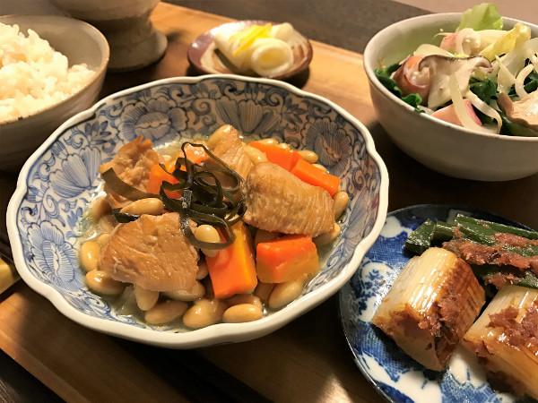 Jan23_鶏と大豆煮