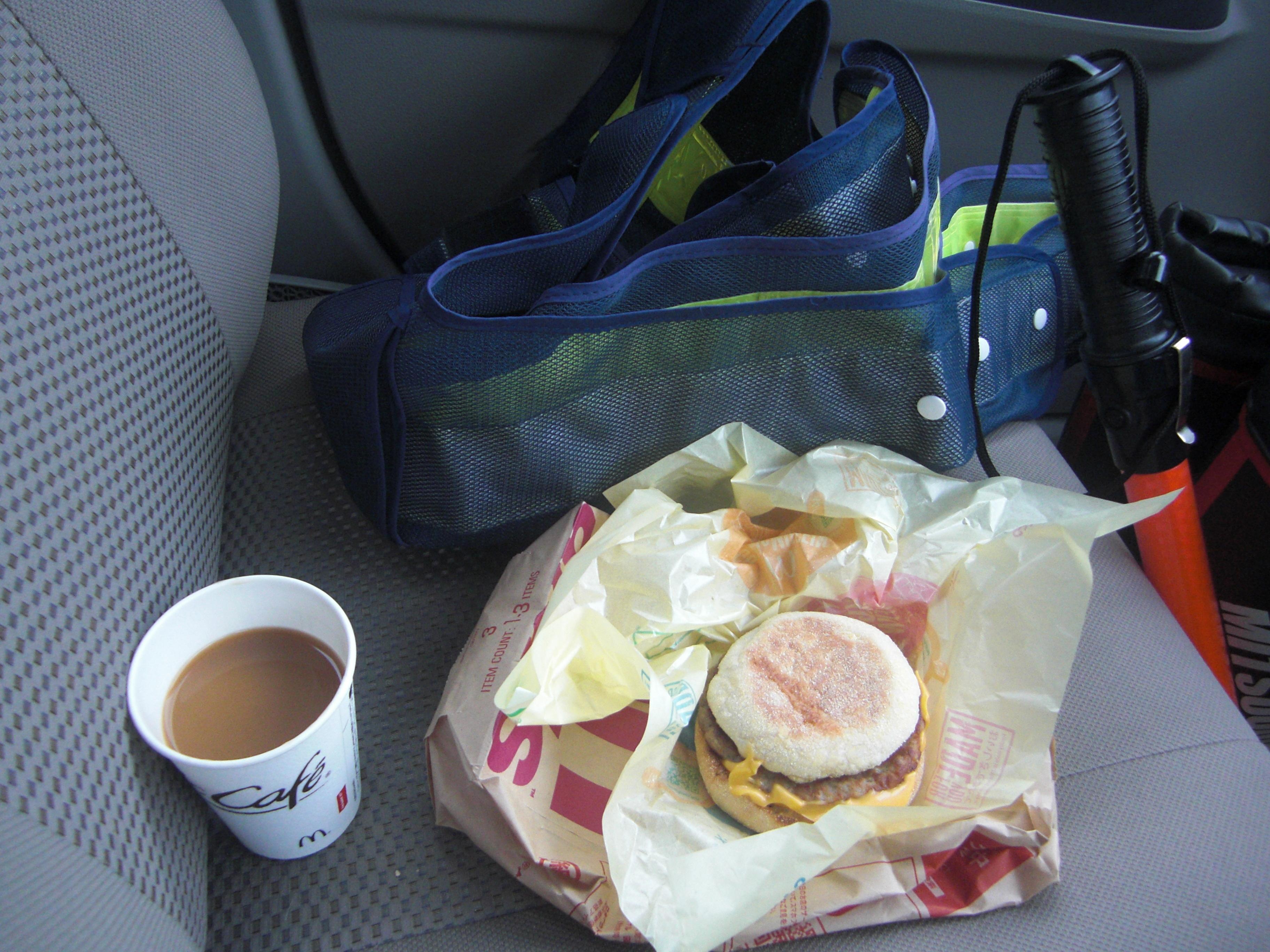 警備員の昼飯
