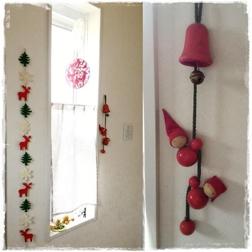 2016クリスマス玄関-2