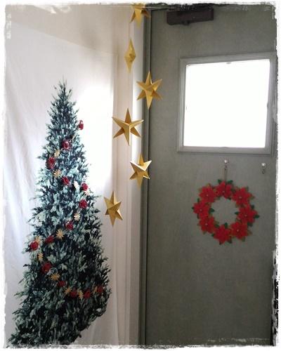 2016クリスマス玄関