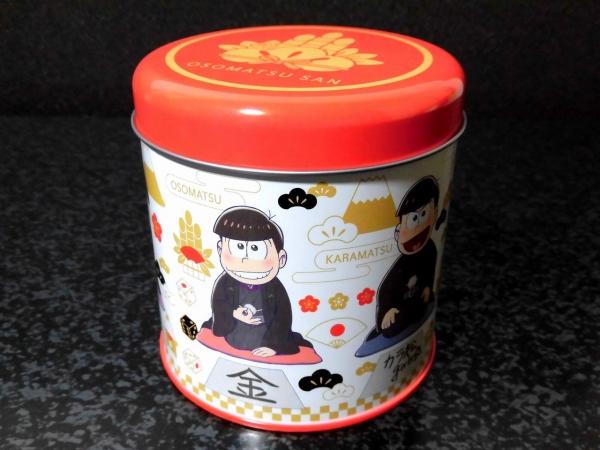 おそ松さん福袋:缶小物入れ