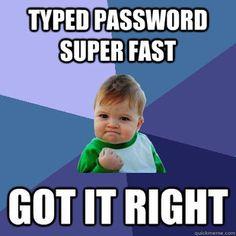 success kid password