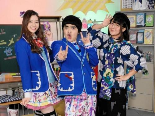 足立梨花 ミニスカ制服でアニマックス新番組に 女子高生役に「24歳、大丈夫か」