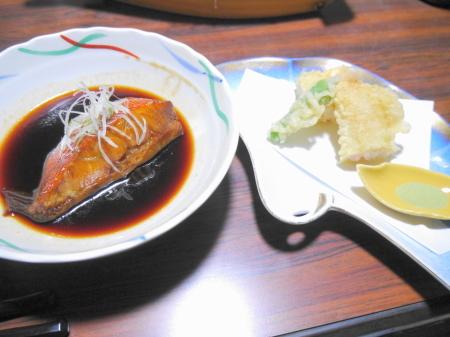 金目鯛と天ぷら