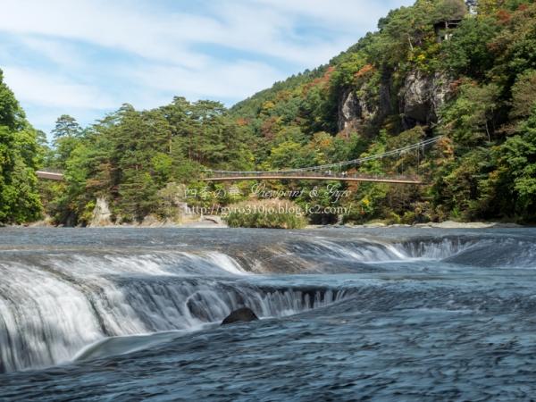 吹割渓谷 吹割の滝 L