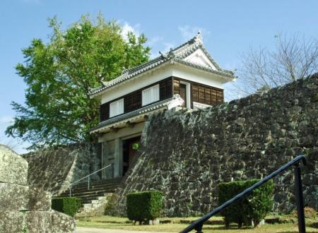 №06・二ノ丸の石垣と「大門櫓」