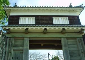 №08・模擬復元された「大門櫓」