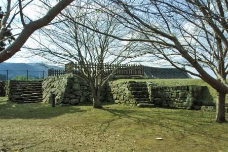 №11・大門櫓の南側 「井楼櫓」の石垣