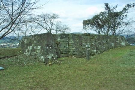 №13・大門櫓の北側 「会所櫓」の石垣
