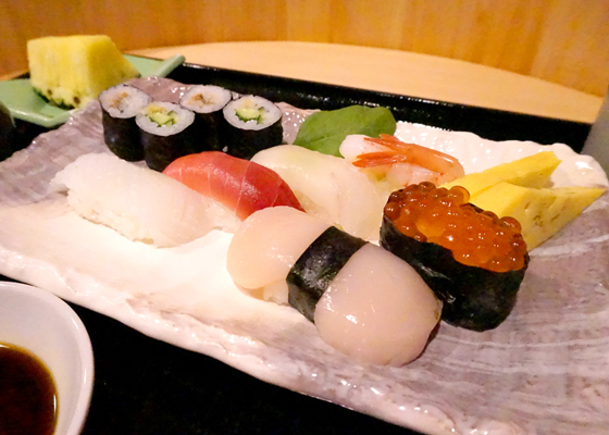 握り寿司20161221