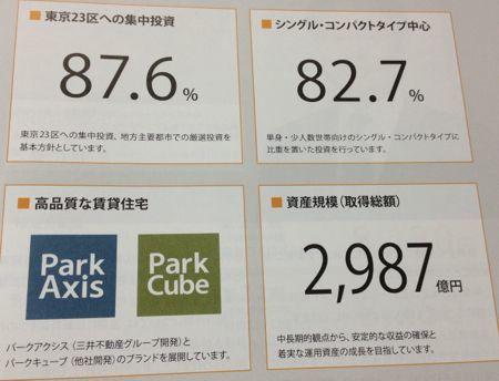 日本アコモデーションファンド投資法人 東京23区への集中投資