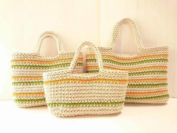手編み雑貨 HanahanD バッグ