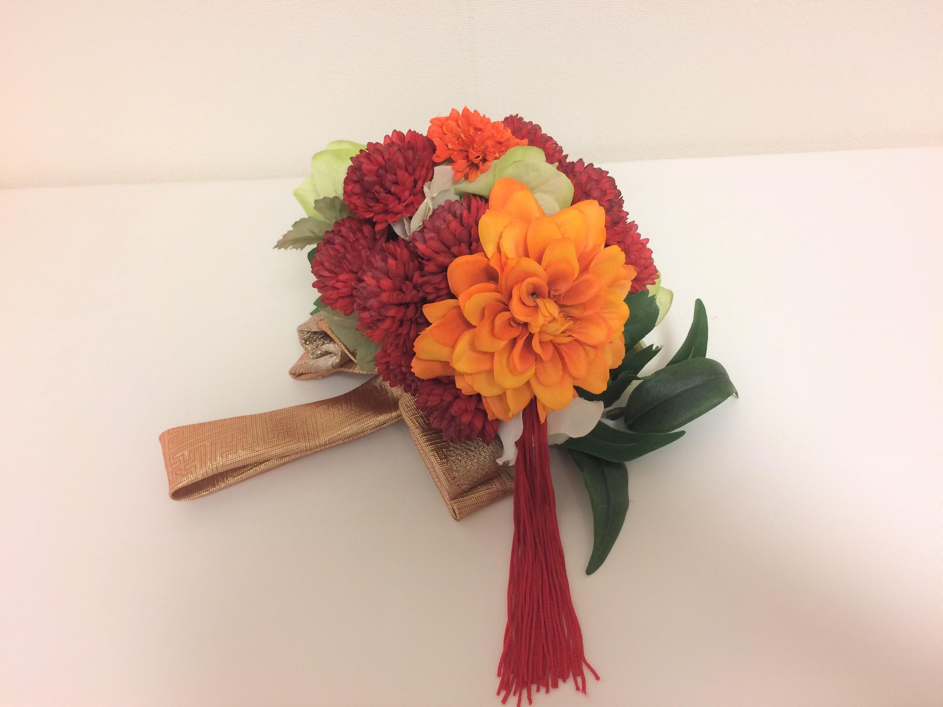 花嫁サロン和装ヘッドドレス&ブーケ hanayomesalon3